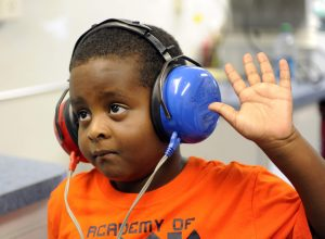 Student hearing screening
